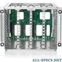 HP 725572-B21 2U 8SFF Hard Drive Cage/Backplane Kit for DL180 Gen9 5798118