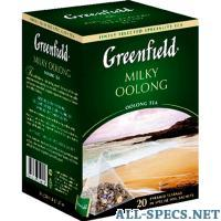GreenField / milky oolong 20пак 96400178