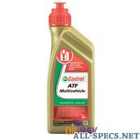 Castrol atf multivehicle для акпп 1л 813499