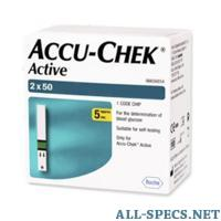 Roche Diagnostics accu-chek тест - полоски акку-чек актив №100 9109121