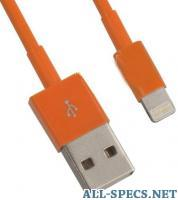 Liberty Project 0L-00002539 кабель USB - Lightning Orange, 1m 399272