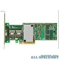 IBM 00D7085 Контроллер Express ServeRAID M5100 Series 512MB Cache/RAID 5 Upgrade for System x (x3500 M4/x3550 M4/x3 59060
