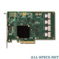 LSI Logic 00244 Контроллер Logic SAS 9201-16I SGL PCI-E, 6 Gb s, SAS, 16-port Host Bus Adapter 5906417