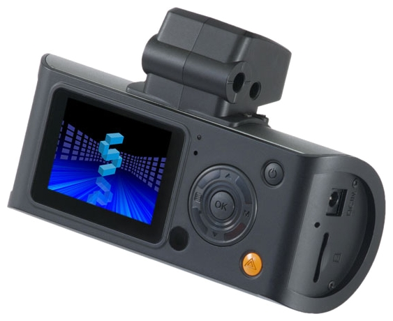 Subini DVR A9 - качественный видеорегистратор с дополнтиельной выносной камерой в водонепроницаемом и пылезащищенном
